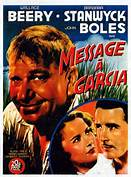 "Movie poster of ""A Message to Garcia"""