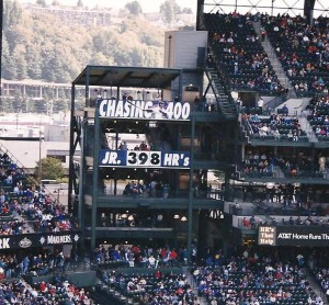 398 HRs frozen in time:Griffey's last game at Safeco before being traded to Cincinnati
