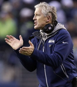 Seahawk Head Coach Pete Carroll