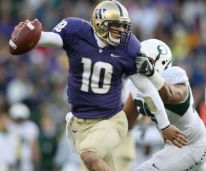 Jake Locker during his Husky days
