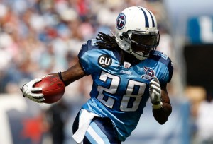 Titans top rusher Chris Johnson