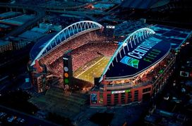 """Home of the Seattle Seahawks: CenturyLink Field (""""the Clink"""")"""