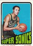 Lenny Wilkins in his Sonics playing days