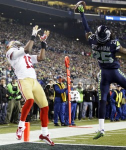 """Richard Sherman and the """"Immaculate Deflection"""""""