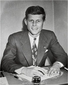 JFK the Congressman in the early 1950s