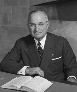 Harry Truman--US President 1945-1953
