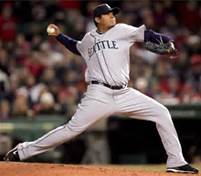 """The King""...Mariners pitcher Felix Hernandez"
