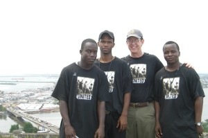 Jay, Tim and Youth for Human Rights