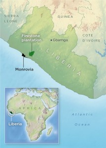 The nation of Liberia
