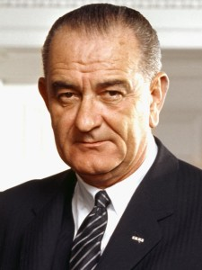 US President in 1964 Lyndon Johnson