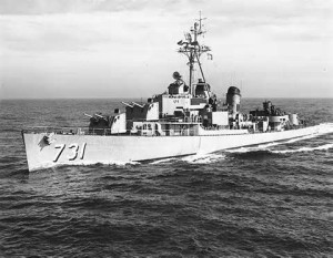 The USS Maddox