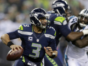 The Seahawks had to re-sign Russell Wilson