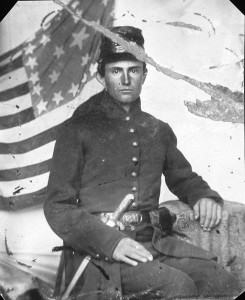 A Union soldier much like   those Mary Middleton Wrenn wrote about.