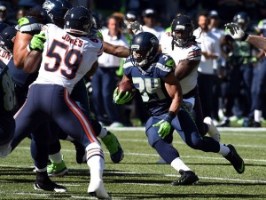 Thomas Rawls had 104 yards in 16 carries vs. Bears