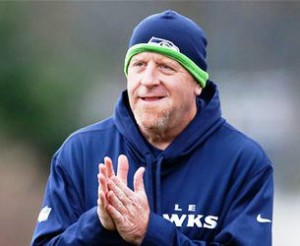 Tom Cable: a great job with the offensive line