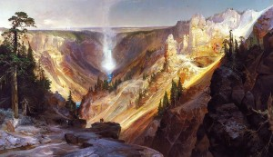 """Grand Canyon of the Yellowstone"" by Thomas Moran"