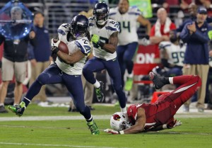 The Seahawks miss Marshawn Lynch