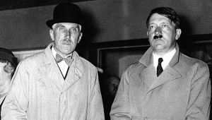 Franz von Papen with Hitler ca. 1933